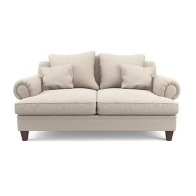 Mila 2 Seater Sofa Classic Cream by Brosa, a Sofas for sale on Style Sourcebook