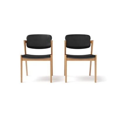 Ingrid 2x Modern Danish Dining Chair Warm Ash by Brosa, a Dining Chairs for sale on Style Sourcebook