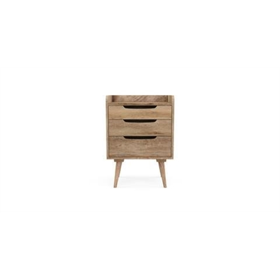 McEwan Side Table Natural Mango Wood by Brosa, a Side Table for sale on Style Sourcebook
