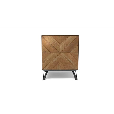Conrad Side Table Teak Wash by Brosa, a Side Table for sale on Style Sourcebook