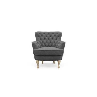 Alessia Accent Chair Cosmic Anthracite