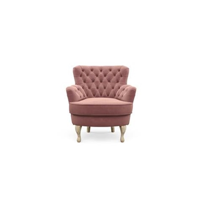 Alessia Accent Chair Blush Pink by Brosa, a Chairs for sale on Style Sourcebook
