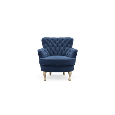 Alessia Accent Chair Ocean Blue