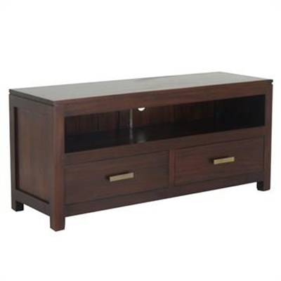 Milan Mahogany 2 Drawer TV Unit, 120cm, Mahogany by Centrum Furniture, a Entertainment Units & TV Stands for sale on Style Sourcebook