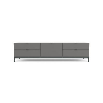 Josie Large Entertainment Unit Gunmetal Grey by Brosa, a Entertainment Units & TV Stands for sale on Style Sourcebook