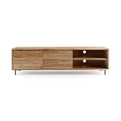 Martin Entertainment Unit Natural Mango Wood