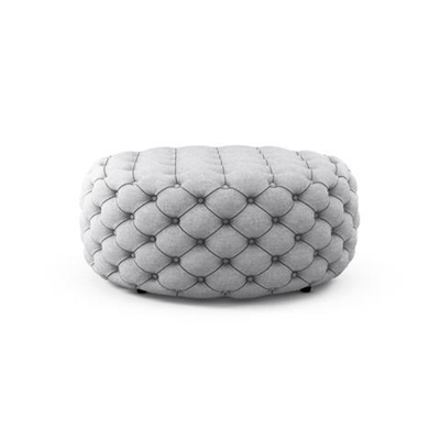 Marken Large Round Ottoman Cloud Grey by Brosa, a Ottomans for sale on Style Sourcebook