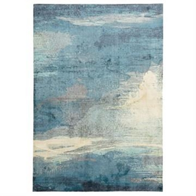 City Impression Modern Rug, 280x190cm, Blue by Rug Culture, a Contemporary Rugs for sale on Style Sourcebook