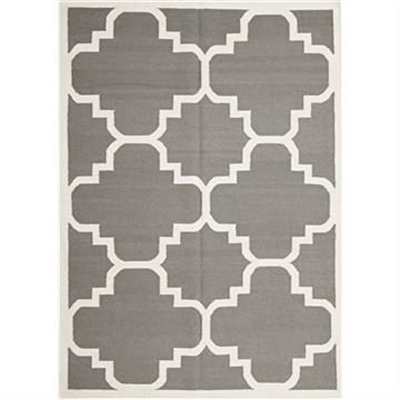Nomad Hand Knotted Weave Moroccan Design Woolen Rug in Grey - 225x155cm by Rug Culture, a Contemporary Rugs for sale on Style Sourcebook
