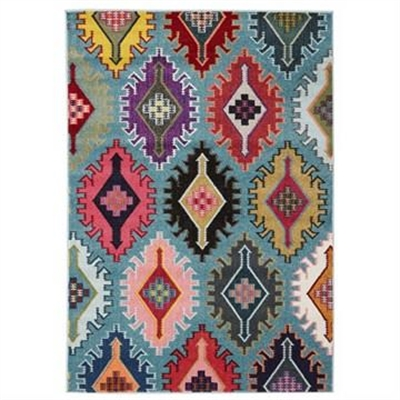 Kata Turkish Made Modern Rug in Blue - 290x200cm by Rug Culture, a Contemporary Rugs for sale on Style Sourcebook