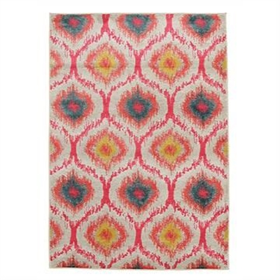 Gypsy Heirloom Modern Rug in Pink - 290x200cm