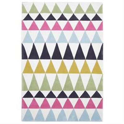 Narris Modern Bunting II Hand Tufted Rug - 165x115cm by Rug Culture, a Contemporary Rugs for sale on Style Sourcebook