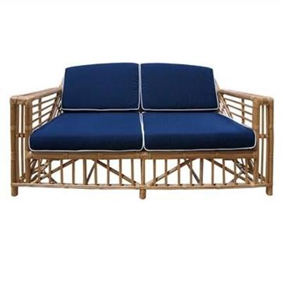 Colonade Rattan 2.5 Seater Sofa with Cushion, Honey