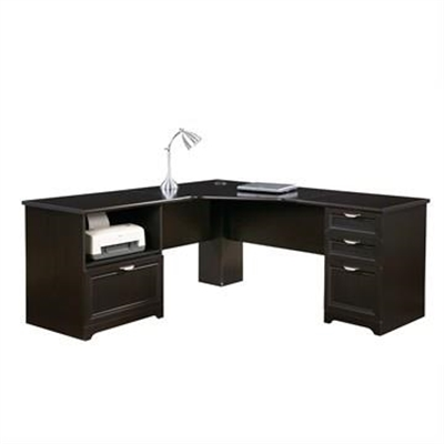 Grafton Espresso Xl-Shape Desk by Hal Furniture, a Desks for sale on Style Sourcebook