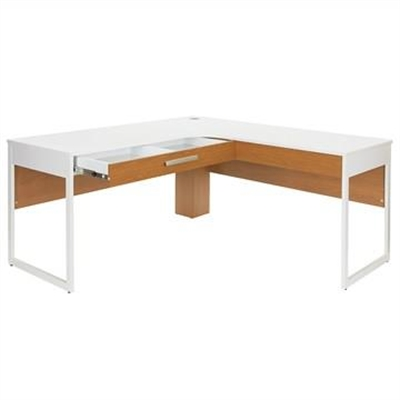 Active 160cm L Shape Office Desk