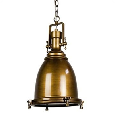 Gelos Classic Pendant Light - Antique Brass