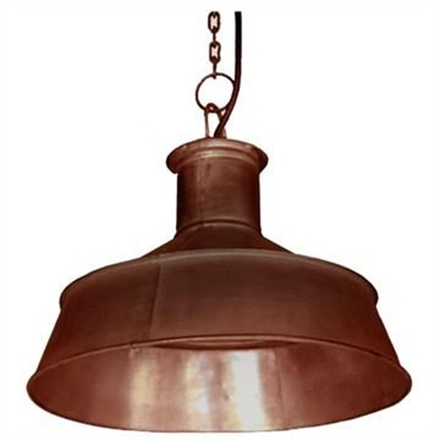 Guben Metal Funnel Pendant Light - Copper