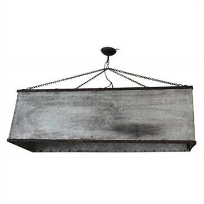 Roth Metal Box Pendant Light