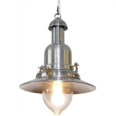 Haiger Aluminium Nautical Pendant Light - Silver