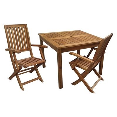 Catriona Outdoor Kids Table & Chair Set