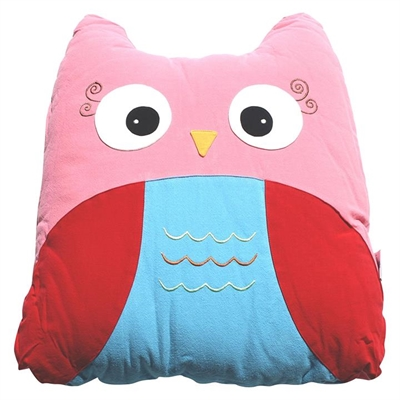 Owl Cuddling Cushion by PenBird, a Kids Cushions for sale on Style Sourcebook
