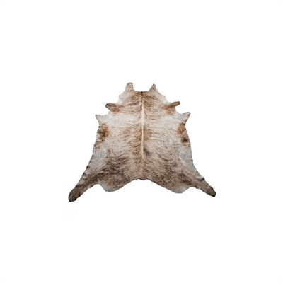 Natural Cowhide Rug, Light Exotic