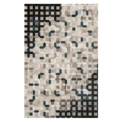 Trellis Hide Rug, Black by Art Hide, a Hide Rugs for sale on Style Sourcebook