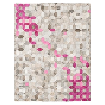 Trellis Hide Rug, Pink by Art Hide, a Hide Rugs for sale on Style Sourcebook