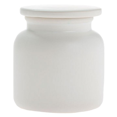 Marino Canister, White by Linen House, a Food Storage for sale on Style Sourcebook