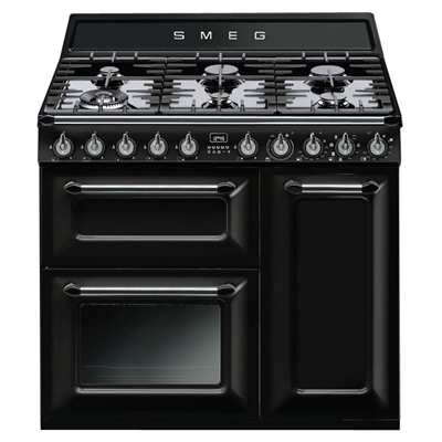Smeg 90cm Thermoseal Freestanding Cooker - TRA93BL     *Smeg Classic & Victoria Total 5 Year Warranty Offer by Smeg, a Ovens for sale on Style Sourcebook