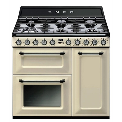 Smeg 90cm Thermoseal Freestanding Cooker - TRA93P     *Smeg Classic & Victoria Total 5 Year Warranty Offer by Smeg, a Ovens for sale on Style Sourcebook