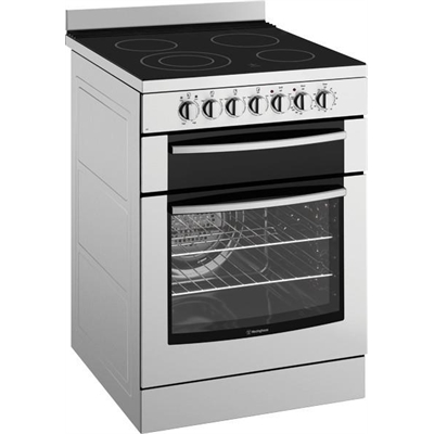 Westinghouse 60cm Freestanding Electric Cooker - WFE647SA