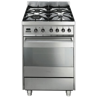 Smeg 60cm gas/electric upright cooker - C6GMXA8