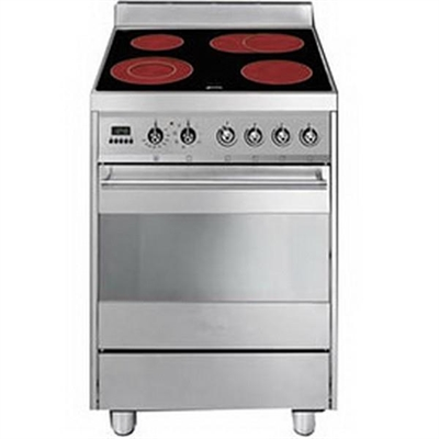 Smeg 60cm electric/electric upright cooker - C6CMXA8