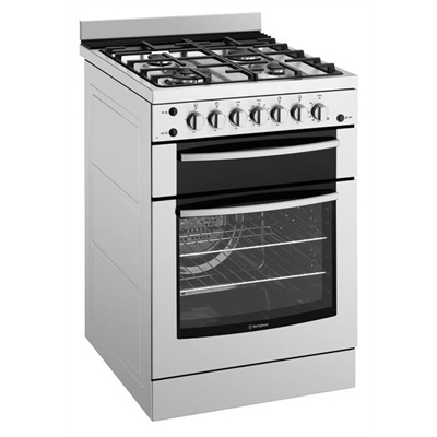 Westinghouse 60cm Freestanding Gas Cooker - WFG617SANG by Westinghouse, a Ovens for sale on Style Sourcebook