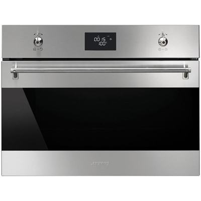 Smeg 45cm Classic Compact Steam Oven - SFA4390VX1 by Smeg, a Ovens for sale on Style Sourcebook