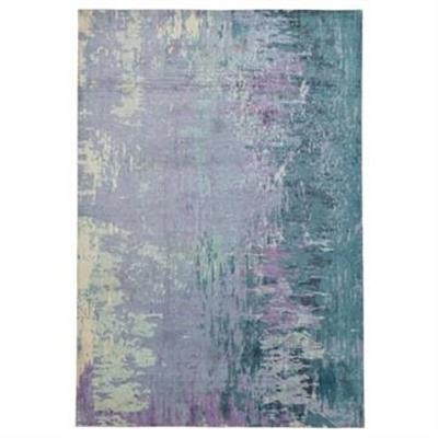 City Monet Modern Rug, 320x230cm, Violet / Teal