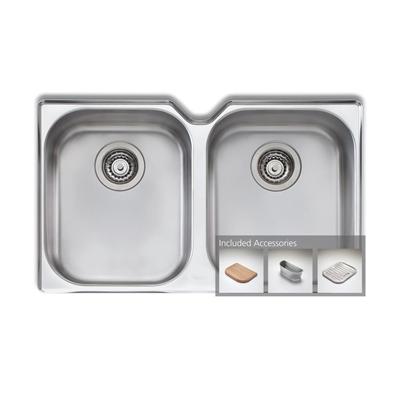 Oliveri Diaz double bowl undermount sink - DZ10U  *Oliveri Kilikanoon Wine Promotion