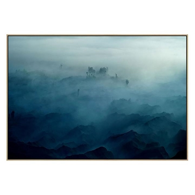 Land of Fog Canvas Print with Floating Frame by United Interiors, a Prints for sale on Style Sourcebook