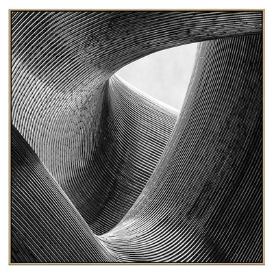Lines Canvas Print with Floating Frame