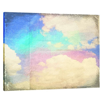 After Rain Landscape Canvas Print