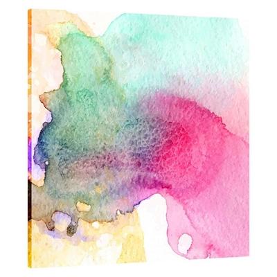 Ink Drop Square Canvas Print