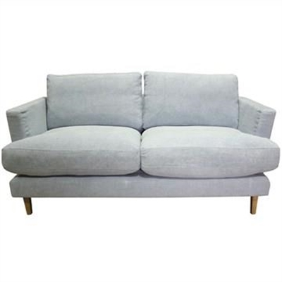 Jao Linen Fabric 2.5 Seater Sofa - Ink
