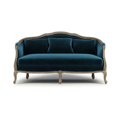 Lucy 3 Seater Sofa Peacock Teal