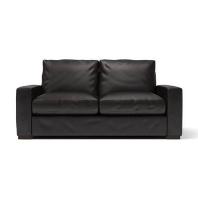 Manhattan Leather 2 Seater Sofa Slate by Brosa, a Sofas for sale on Style Sourcebook