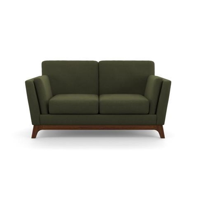 John 2 Seater Sofa Peridot Olive