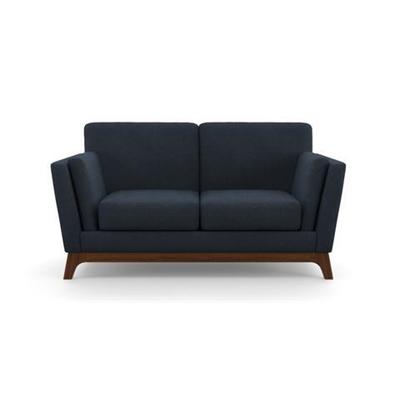 John 2 Seater Sofa Denim Blue