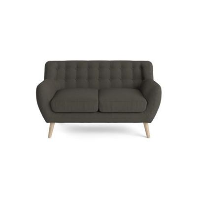 Shelly 2 Seater Sofa Dark Gull Grey