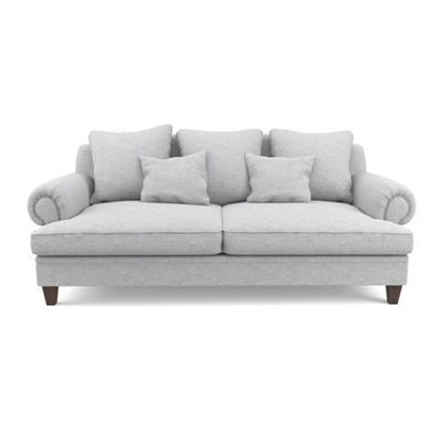 Mila 3 Seater Sofa Cloud Grey