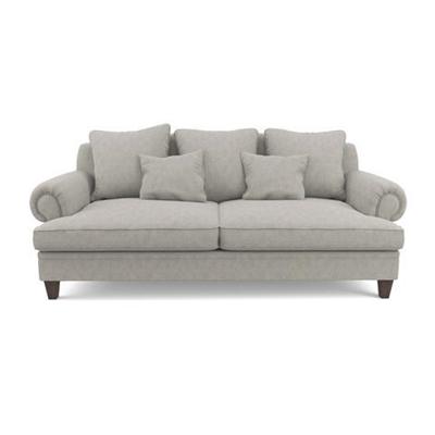 Mila 3 Seater Sofa Stone Grey
